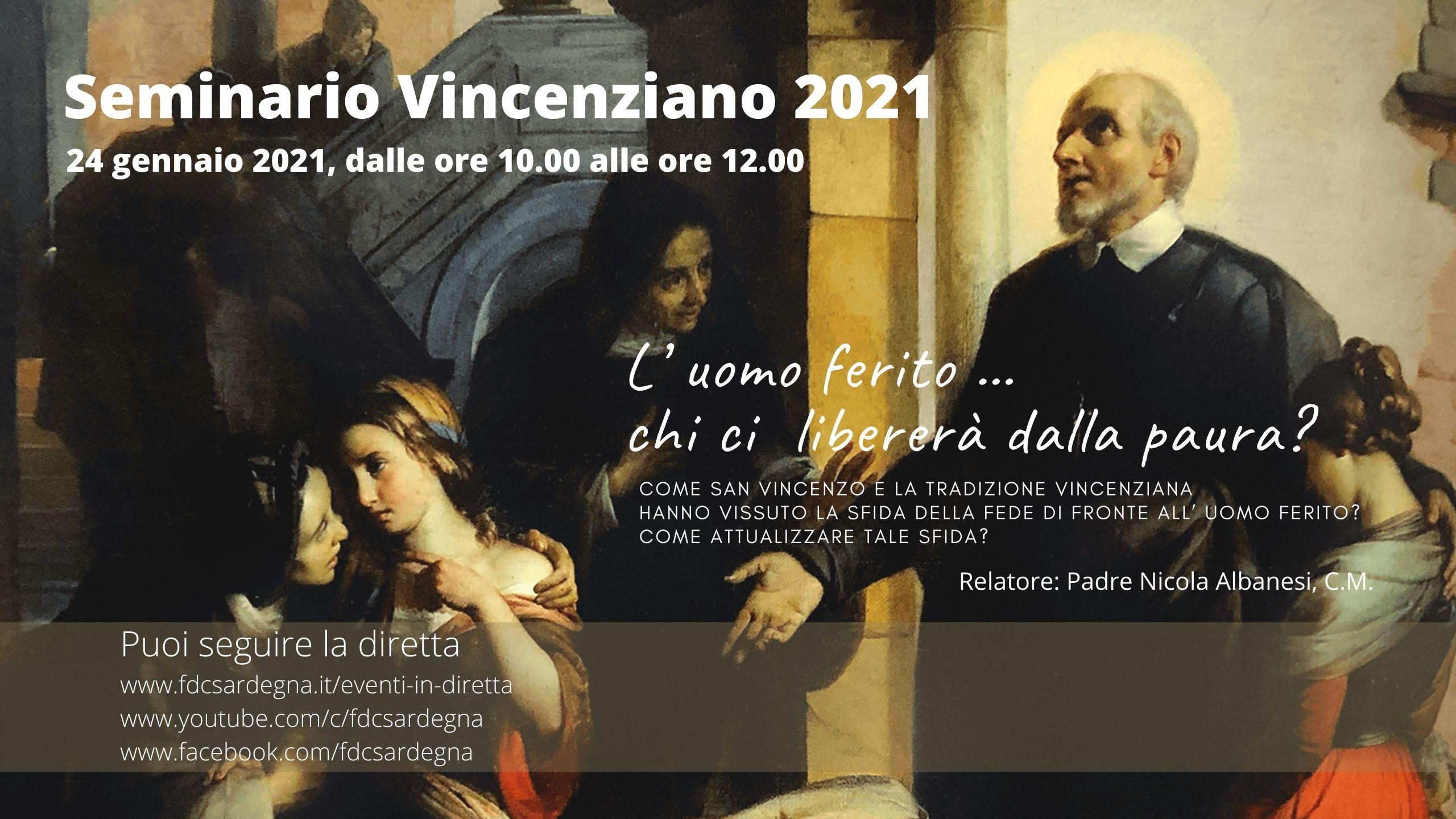 Diretta Seminario Vincenziano 2021